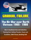 Gradual Failure The Air War Over North Vietnam 1965 - 1966 - War In Southeast Asia And Indochina Flaming Dart Rolling Thunder Pause And Escalation SAM Threat Bombing Halt