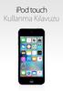 Apple Inc. - iOS 9.3 için iPod touch Kullanma Kılavuzu artwork