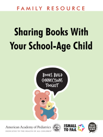 Sharing Books with Your School-Age Child book