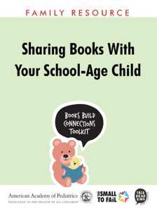 Sharing Books with Your School-Age Child Book Review