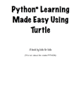 Python Learning Made Easy Using Turtle