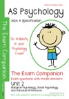 AQA A AS Psychology Unit 2  The Exam Companion  Questions And Model Answers