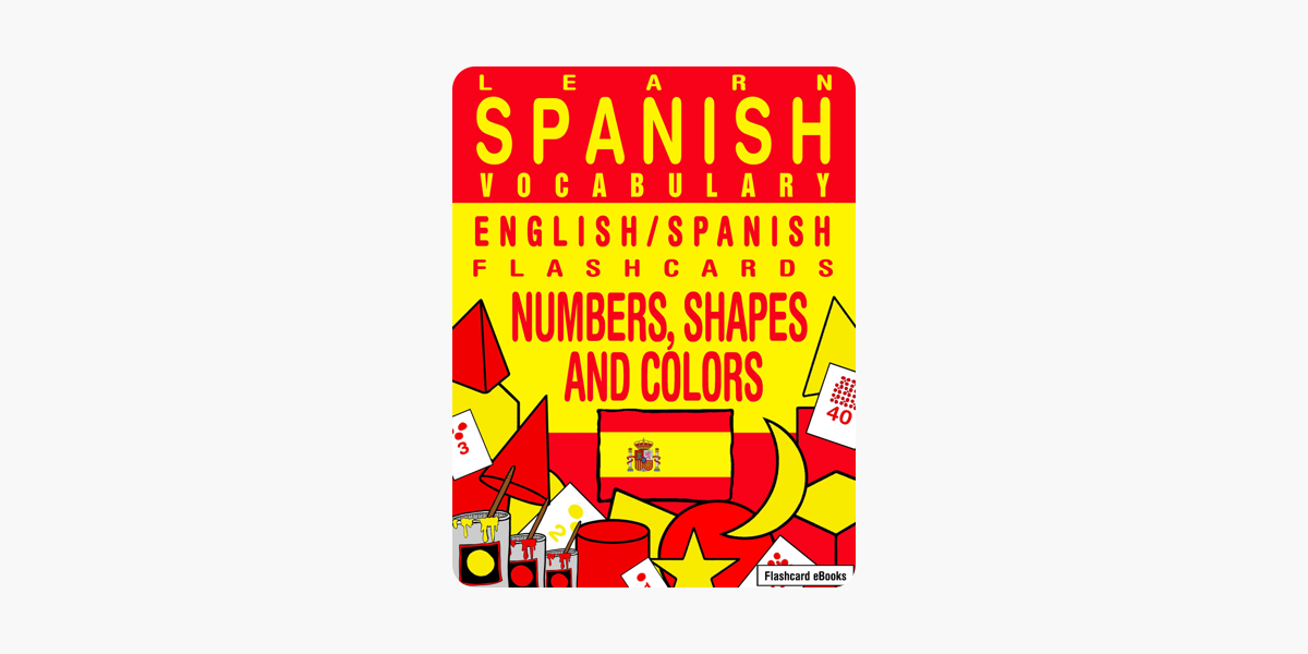 174af483971 Learn Spanish Vocabulary  English Spanish Flashcards - Numbers ...