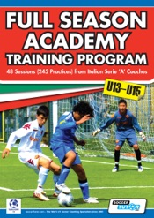 Full Season Academy Training Program U13-15
