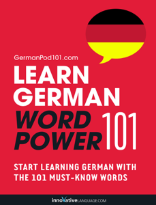 Learn German - Word Power 101 Cover Book