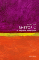 Richard Toye - Rhetoric: A Very Short Introduction artwork
