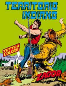 Zagor. Territorio indiano Book Cover