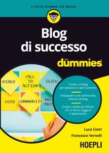 Blog di successo for dummies Book Cover