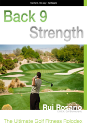 Back 9 Strength The Ultimate Golf Fitness Rolodex book