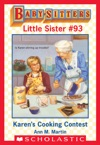 Karens Cooking Contest Baby-Sitters Little Sister 93