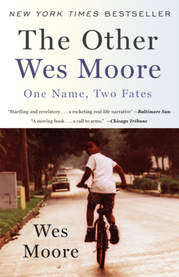 The Other Wes Moore - Wes Moore book