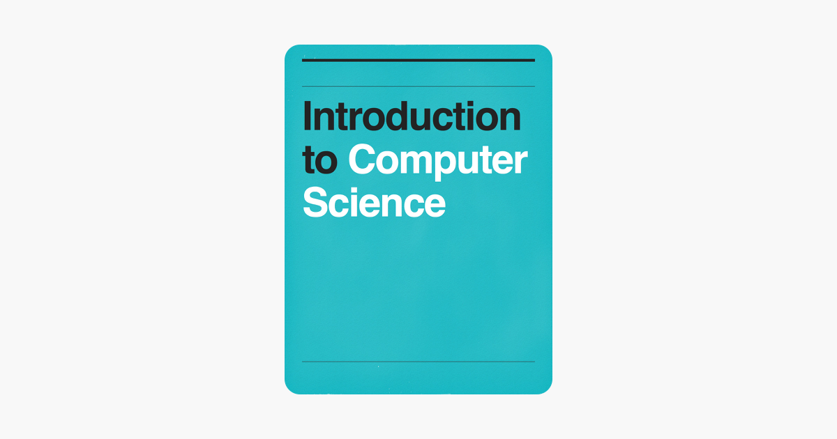 Introduction to Computer Science on Apple Books