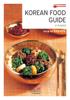 The Korea Foundation - Korean Food Guide artwork