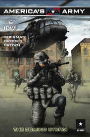 America's Army #6 - The Coming Storm book