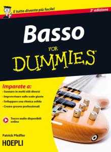 Basso for Dummies Copertina del libro