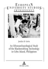An Ethnoarchaeological Study Of The Blacksmithing Technology In Cebu Island Philippines
