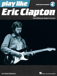 Play like Eric Clapton La couverture du livre martien