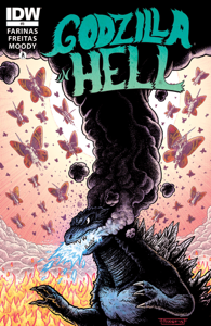 Godzilla In Hell #3 Book Cover