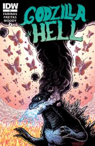 Godzilla In Hell #3 Book Cover