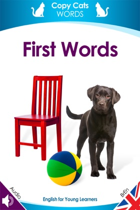 First Words (British English audio) book cover