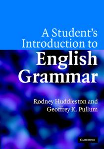 A Student's Introduction to English Grammar La couverture du livre martien