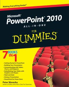 PowerPoint 2010 All-in-One For Dummies La couverture du livre martien