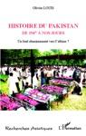 Histoire Du Pakistan De 1947  Nos Jours