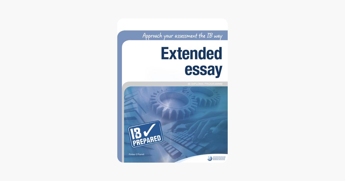 Extended essay ib help