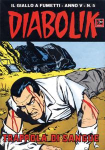 DIABOLIK (55) Copertina del libro