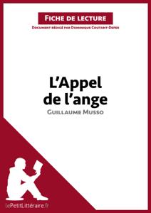 L'Appel de l'ange de Guillaume Musso (Fiche de lecture) La couverture du livre martien
