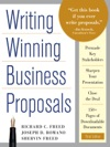 Writing Winning Business Proposals Third Edition