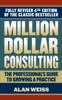 Alan Weiss - Million Dollar Consulting artwork