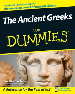 The Ancient Greeks For Dummies Book Cover