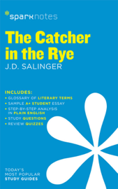 The Catcher in the Rye SparkNotes Literature Guide book