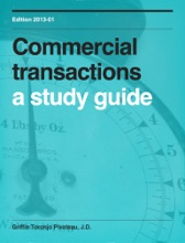 Commercial Transactions: A Study Guide