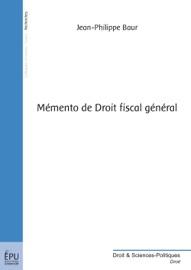 M Mento De Droit Fiscal G N Ral