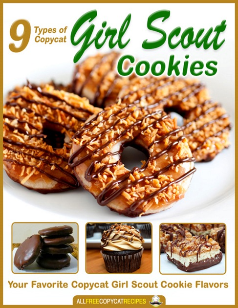 9 types of copycat girl scout cookies by prime on ibooks