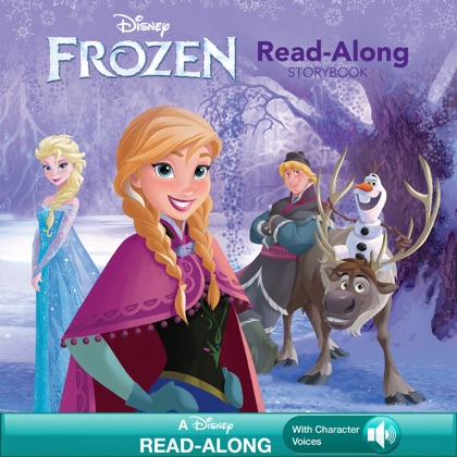 Frozen Read-Along Storybook book cover