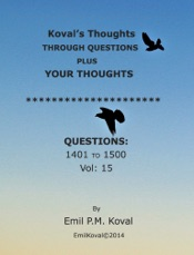 Download Koval's Thoughts Through Questions Vol. 15