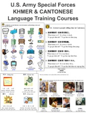 U S  Army Special Forces KHMER & CANTONESE Language Training Courses by  United States Special Operations Command on Apple Books