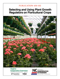 Selecting and Using Plant Growth Regulators on Floricultural Crops