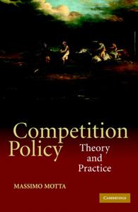 Competition Policy Copertina del libro
