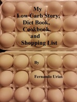 My Low Carb Story, Diet Book, Cookbook e Shopping List