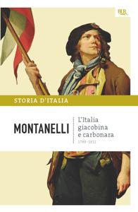 L'Italia giacobina e carbonara - 1789-1831 Copertina del libro