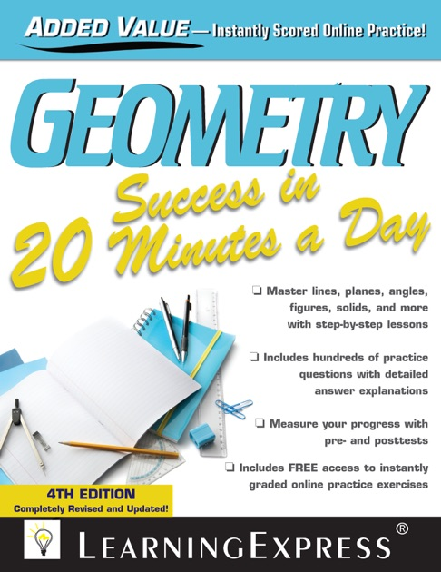 Geometry Success In 20 Minutes A Day By Learningexpress Llc On Apple