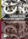 Calidad En La Educacin Superior