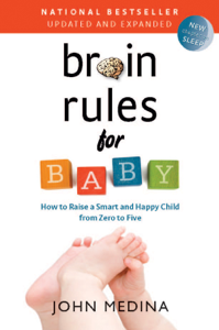 Brain Rules for Baby (Updated and Expanded) La couverture du livre martien