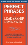 Perfect Phrases For Leadership Development
