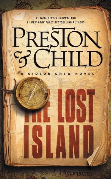 The Lost Island - Douglas Preston & Lincoln Child book cover