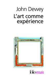 L'art comme expérience La couverture du livre martien